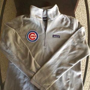 Patagonia Chicago Cubs patched micro fleece